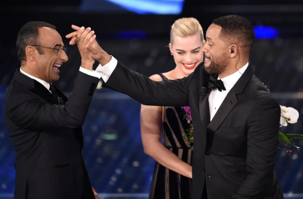 Will Smith e Carlo Conti