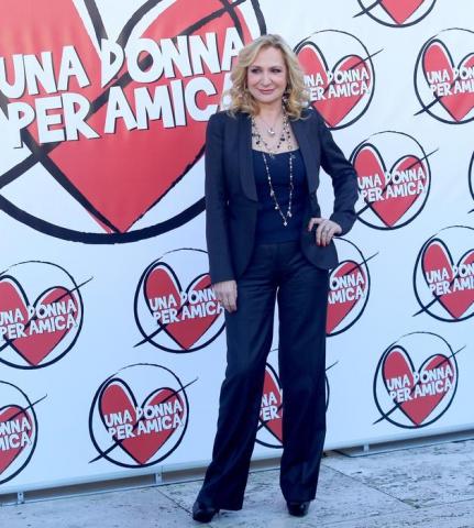 Monica Scattini alla presentazione del film Una donna per amica