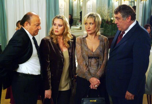 Monica Scattini in una scena di Un ciclone in famiglia 2
