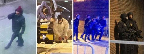 Immagini salienti degli attentati