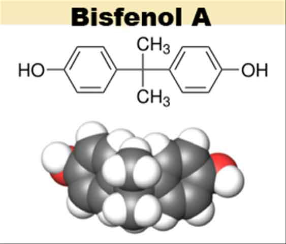 Formula chimica del bisfenolo