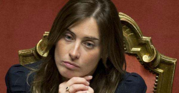 Il ministro Maria Elena Boschi alla Camera