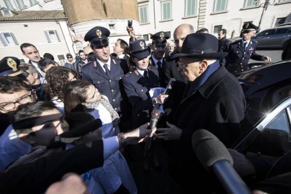 """Napolitano: """"Sono felice di tornare a casa"""""""