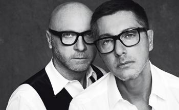 La coppia di stilisti Dolce e Gabbana.jpg