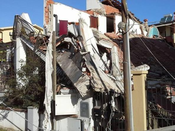 Esplode villa ad Olbia