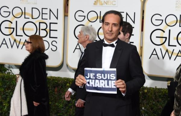 Alexandre Desplat commemora la Francia ai Golden Globes