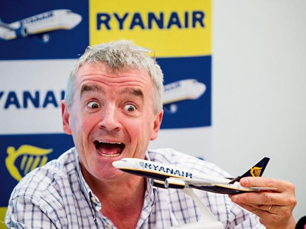 Il leader di Ryanair Michael O'Lear