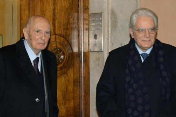 Matterella e Napolitano