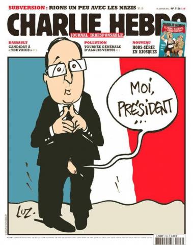 Hollande e Charlie Hebdo