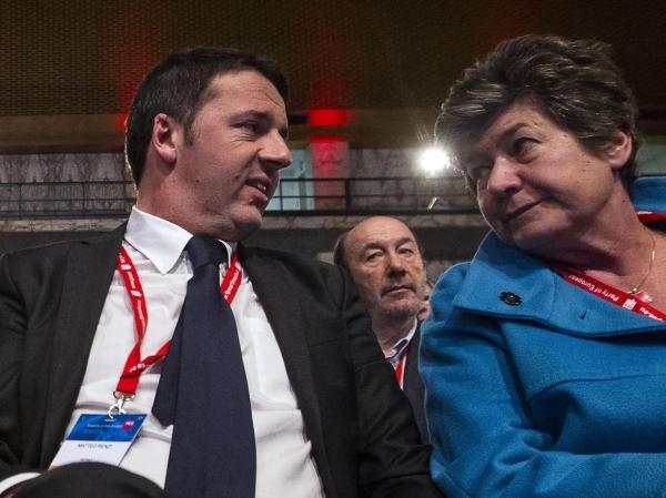 Renzi e la Camusso