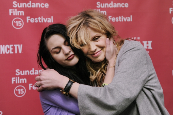 Courtney Love e Francis Bean Cobain