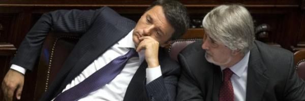 Matteo Renzi e il ministro Poletti
