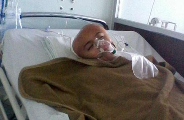 Antonio in ospedale