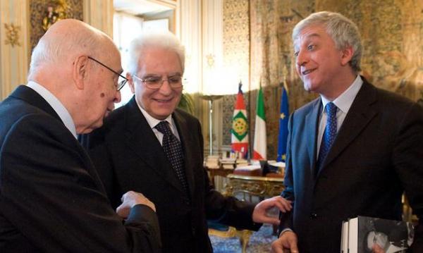 Matteralla con Napolitano