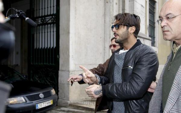 Fabrizio Corona in manette