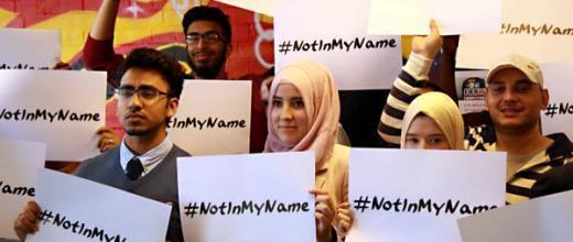 La campagna #NotInMyName