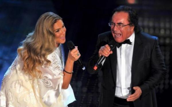 Albano e Romina insieme a Sanremo
