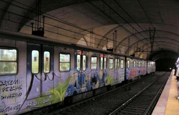 sesso sulla metro