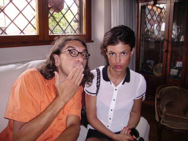 Sara Tommasi e Gabriele Paolini
