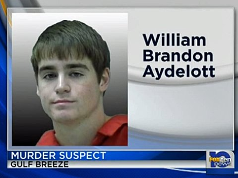 William Brandon Aydelott, 17 anni, arrestato per l'omicidio di sua madre