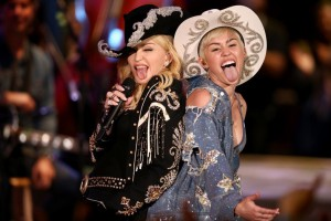 Miley Cyrus e Madonna