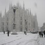 neve fino a Milano