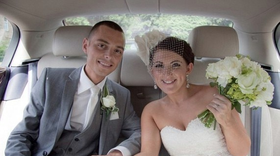 Chris e Ceri sposati
