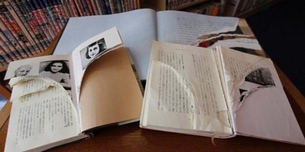 Le copie danneggiate del Diario di Anne Frank