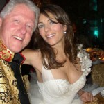 Bill Clinton e Liz Hurley