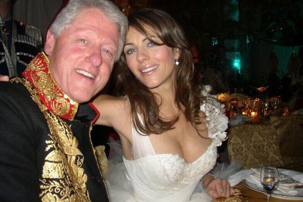 Bill Clinton e Liz Hurley