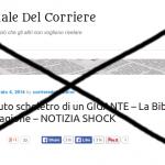 Giornale Del Corriere, alias Corriere del Mattino: il bufalaio del web