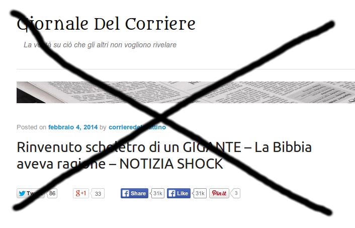 Giornale Del Corriere