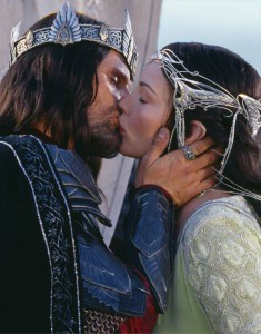 Il Signore degli Anelli - Aragorn e Arwen