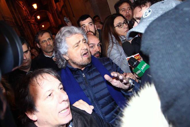 Sanremo 2014 - Grillo
