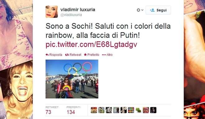 Sochi - Vladimir Luxuria
