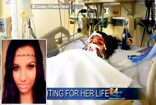 La notizia di Linda Perez, 18 anni, nelle trasmissioni di emittenti televisive americane