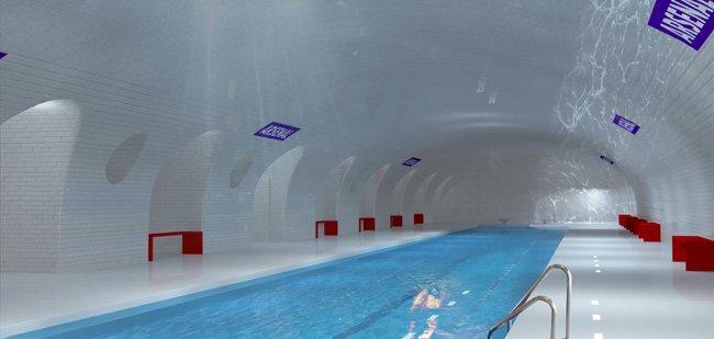 piscina ex metro