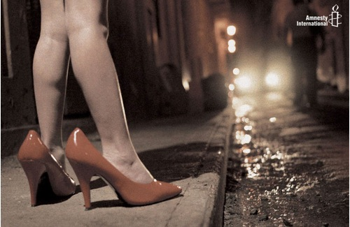 Amnesty International contro la prostituzione minorile