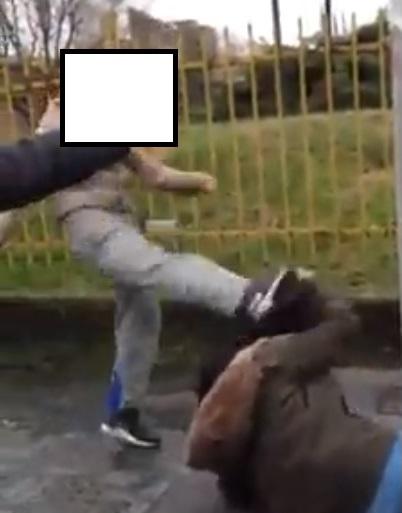 Una delle scene più cruente del video