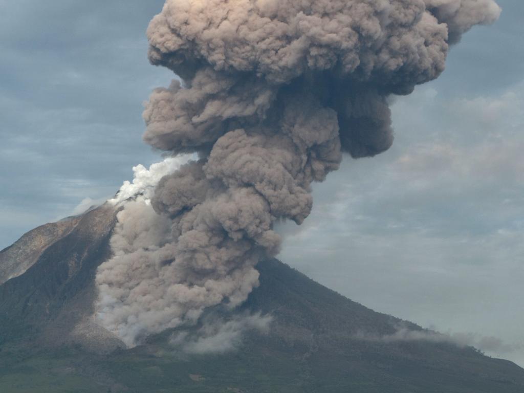 Sumatra, il vulcano