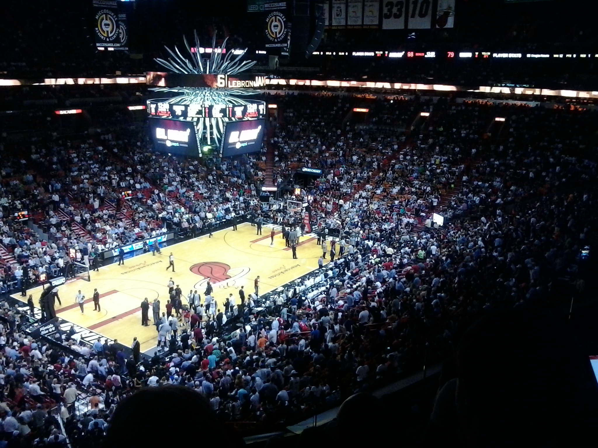 American Airlines Arena - LeBron James