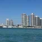 I grattacieli che camminano sull'acqua