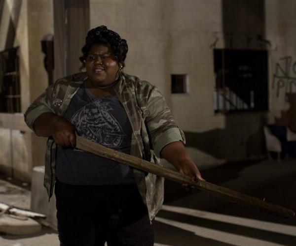 "Gabourey Sidibe interpreta Queenie in ""American Horror story: Coven"""