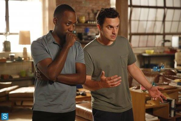 "Lamorne Morris e Jake Johnson in ""New Girl""  sono Winston e Nick"