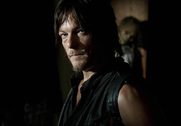 "Daryl Dixon ( Norman Reedus) in una scena di ""The Walking Dead"""