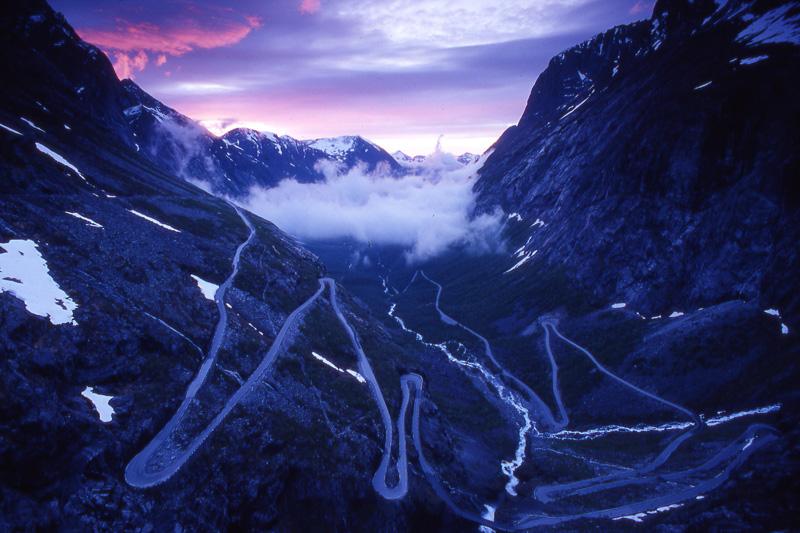 strade Trollstigen - Norvegia