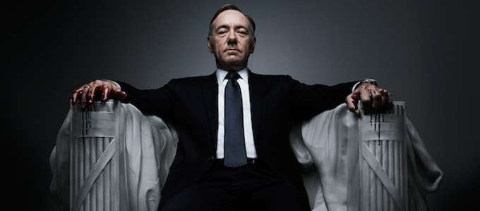 "Superba prova attoriale per Kevin Spacey in ""House of cards"""