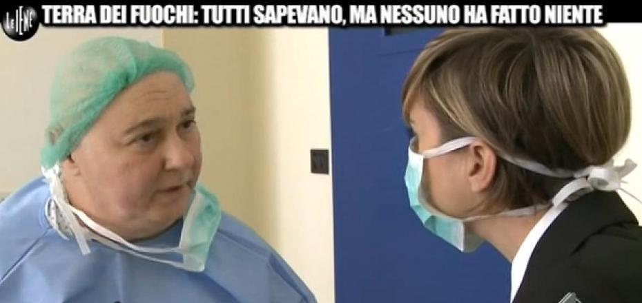 """Roberto Mancini intervistato dalla """"Iena"""" Nadia Toffa"""