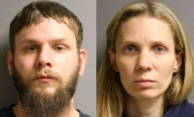 I coniugi Bleimeyer, accusati  in Texas di maltrattamenti nei confronti del proprio figlio
