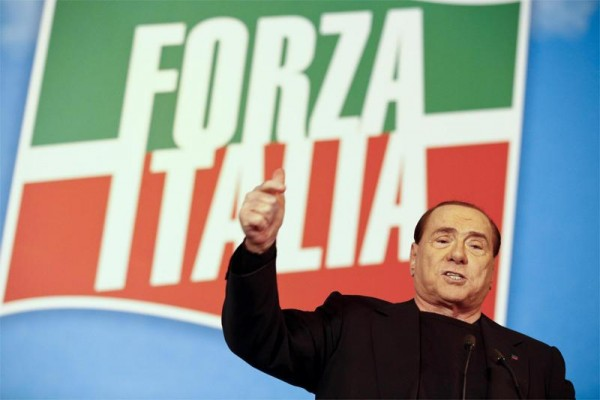 forza italia berlusconi santa famiglia europee